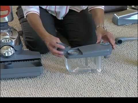 How To Attach The Kirby Vacuum Carpet Shampooer Sentria Youtube
