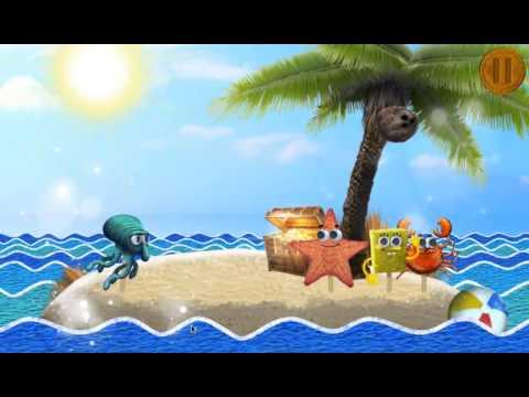 игра мультик губка боб детская игра никелодеон # 1 лучшие игры HD