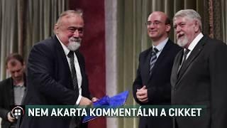 Takaró Mihály nem akarta kommentálni a cikket 19-07-16