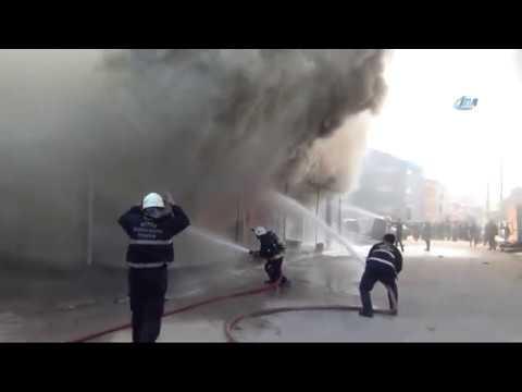 Mobilya Fabrikasında Büyük Yangın