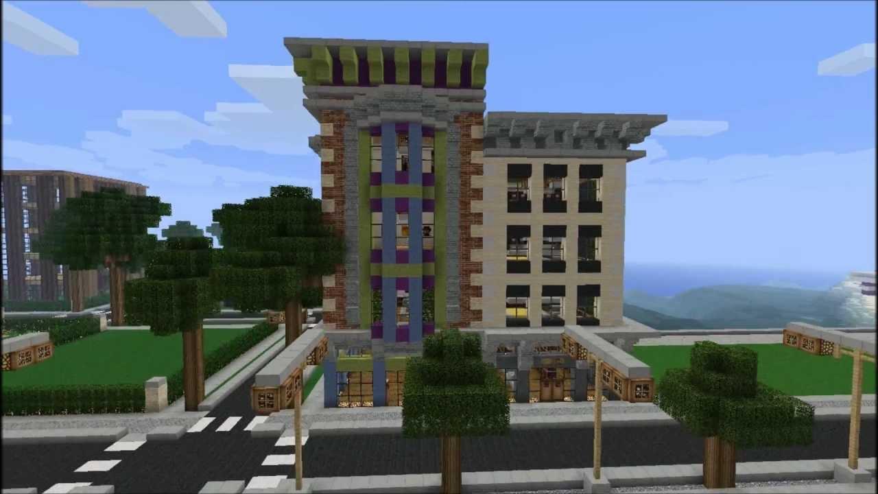 School Designs Minecraft