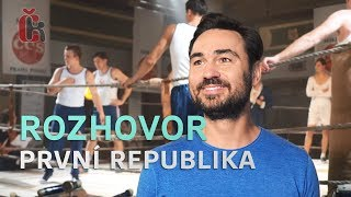 První republika: Biser A. Arichtev v rozhovoru z natáčení třetí řady
