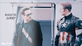 w h a t is l o v e ? | Steve & Tony (Civil War SPOILERS)