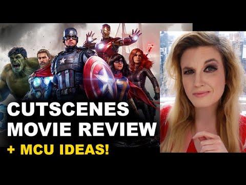 Avengers Game Cutscenes REVIEW + MCU Ideas!