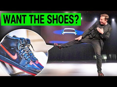 """Creator of Elon Musk's """"Tesla shoes"""" opens up about his now famous footwear"""