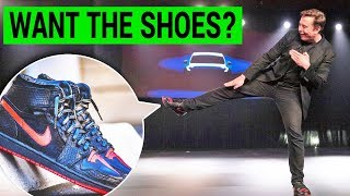 Elon Musk's Tesla Shoes: Where to Get Them & The Story Behind It