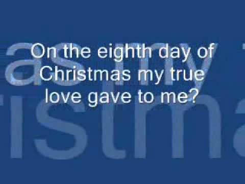 12 Days of Christmas Lyrics - YouTube