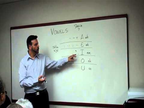 HC-L02 Vowels -Nikkud Vocalization