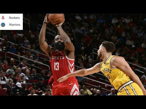 Houston Rockets vs Golden State Warriors Full Game Highlights 11/15/2018