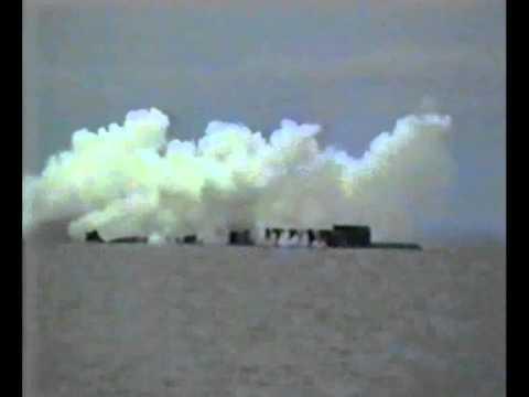 Первый запуск ракеты Синева