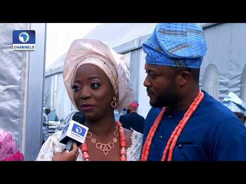 Channels TV Presenter, Maupe Ogun Weds Mohammed Bamidele Yusuf (Watch Video)