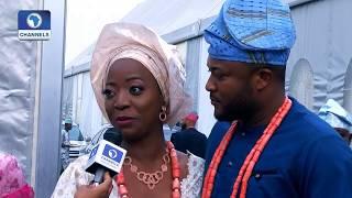 Channels TV Presenter, Maupe Ogun Weds Mohammed Bamidele Yusuf |Metrofile|