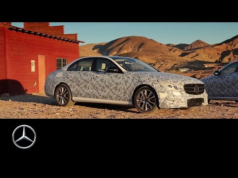 2016 E-Class acceptance run – Mercedes-Benz original