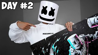 I Drew MARSHMELLO For 50 Hours Straight