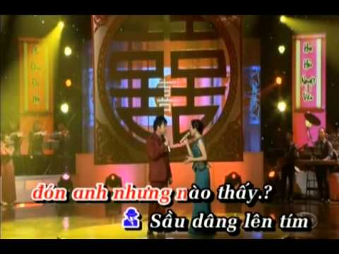 sau tim thiep hong karaoke moi beat nam