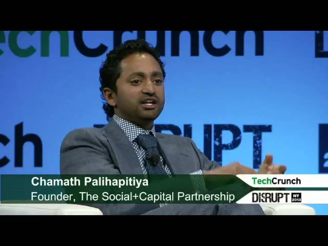 Chamath Palihapitiya, former facebook executive speaks about Bitcoin.