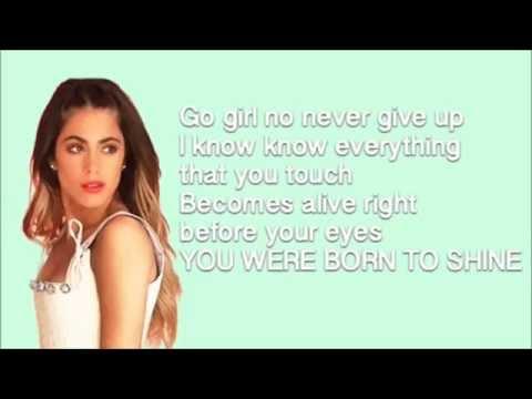 TINI born to shine - lyrics