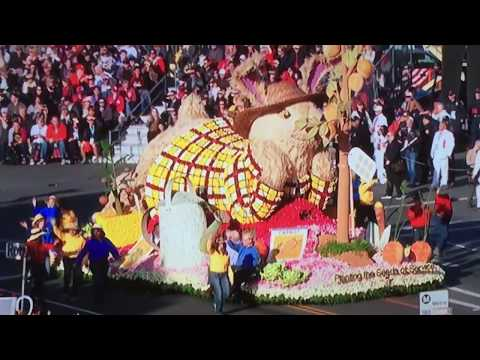 Rose Parade 2018 - Planting the SEEDS OF SERVICE float