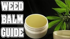 How to Make Cannabis Lotion (Arthritis Balm - Organic Pain Cream)