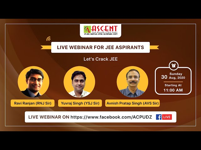 ASCENT CAREER POINT UDAIPUR - LIVE Webinar