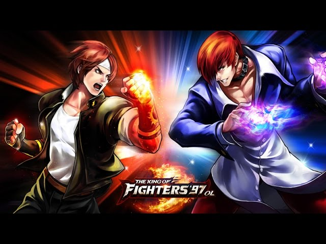 The King of fighters 97 OL  moto G gameplay