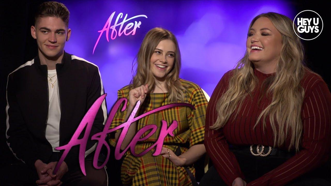 Download The steamy YA sensation After Interviews - Anna Todd, Josephine Langford, Hero Fiennes Tiffin & more