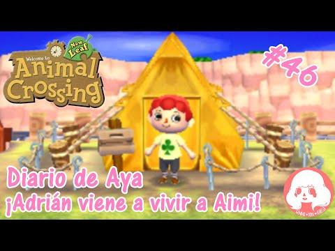 Animal Crossing New Leaf - Diario de Aya- #46 - Adrián viene a Aimi!