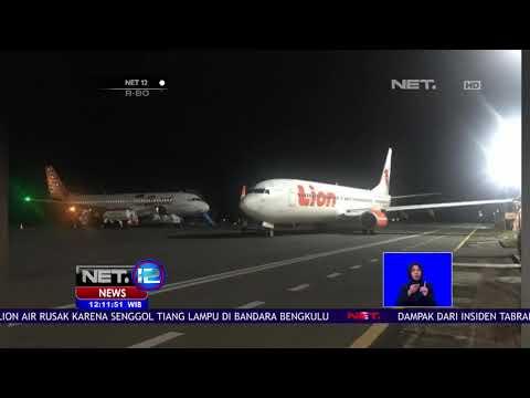 Ditjen Perhubungan Investigasi Kasus Lion Air Tabrak Tiang- NET 12 Mp3