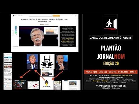 VÍDEO 0320 - IRÃ, MÁFIA RUSSA E ROSNEFT - 13h30