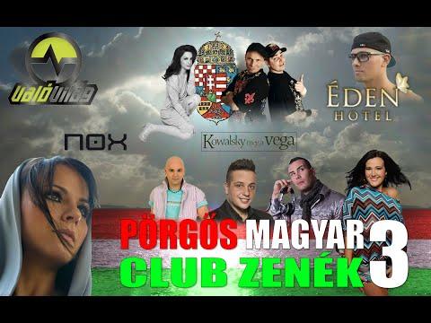 Pörgős Magyar zenék 3 ★♫ TOP Hungarian Club Music 3 ★♫★ Magyar mix letöltés