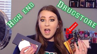 HIGHEND VS DRUGSTORE MAKEUP//Can you tell a difference?