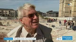 Journées du patrimoine : visite du chantier de fouilles de la basilique Saint-Remi à Reims