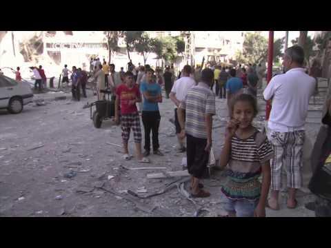 Gaza Violence Continues: At Least 1,200 Palestinians \u0026 55 Israelis Killed