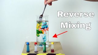 Is it Possible To Un-Mix a Liquid? The Entropy Reversal Challenge