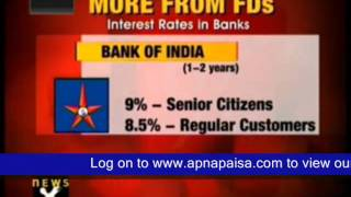 Fixed Deposit at 10% Interest for Senior Citizens