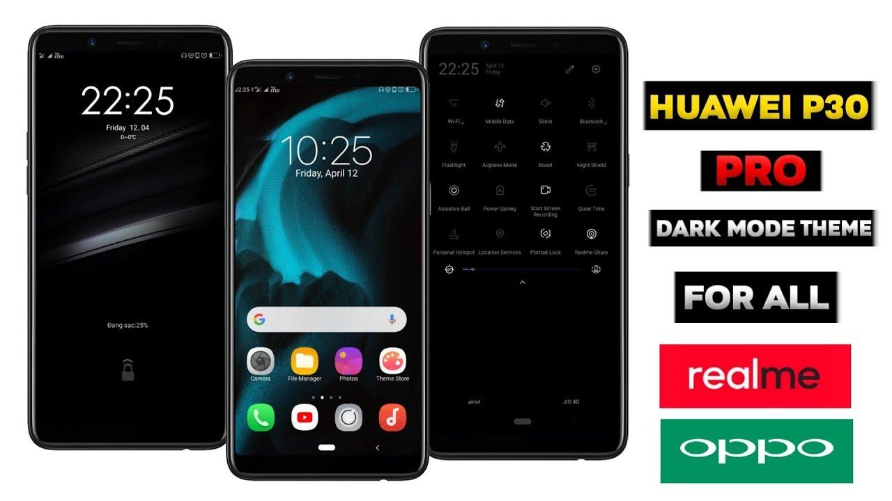 Dark Mode Huawei P30