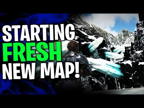 Starting Out SOLO On NEW VALGUERO map! - Solo/Duo PvP Servers - Ark Survival Evolved . EP 1