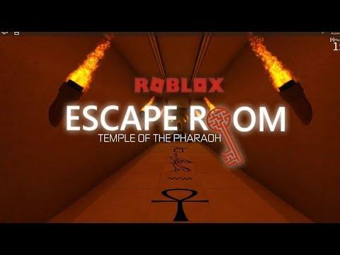 Roblox Escape Room Temple of the Pharoh