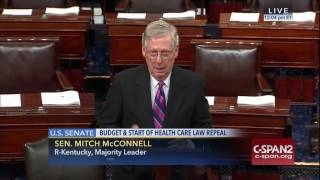 McConnell on Obamacare: We Must Act Quickly to Bring Relief to the American People