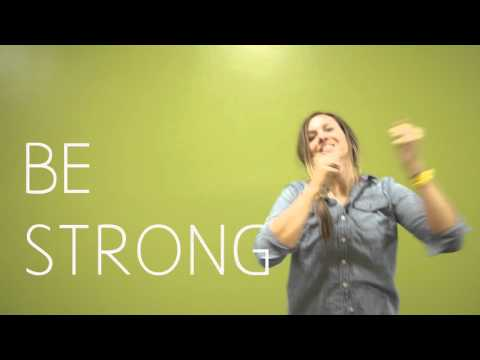 Motion Video: Be Strong Take Courage
