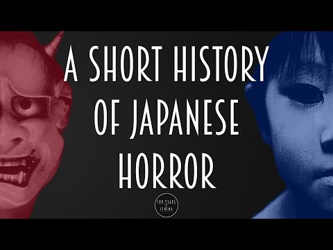A short history of Japanese Horror