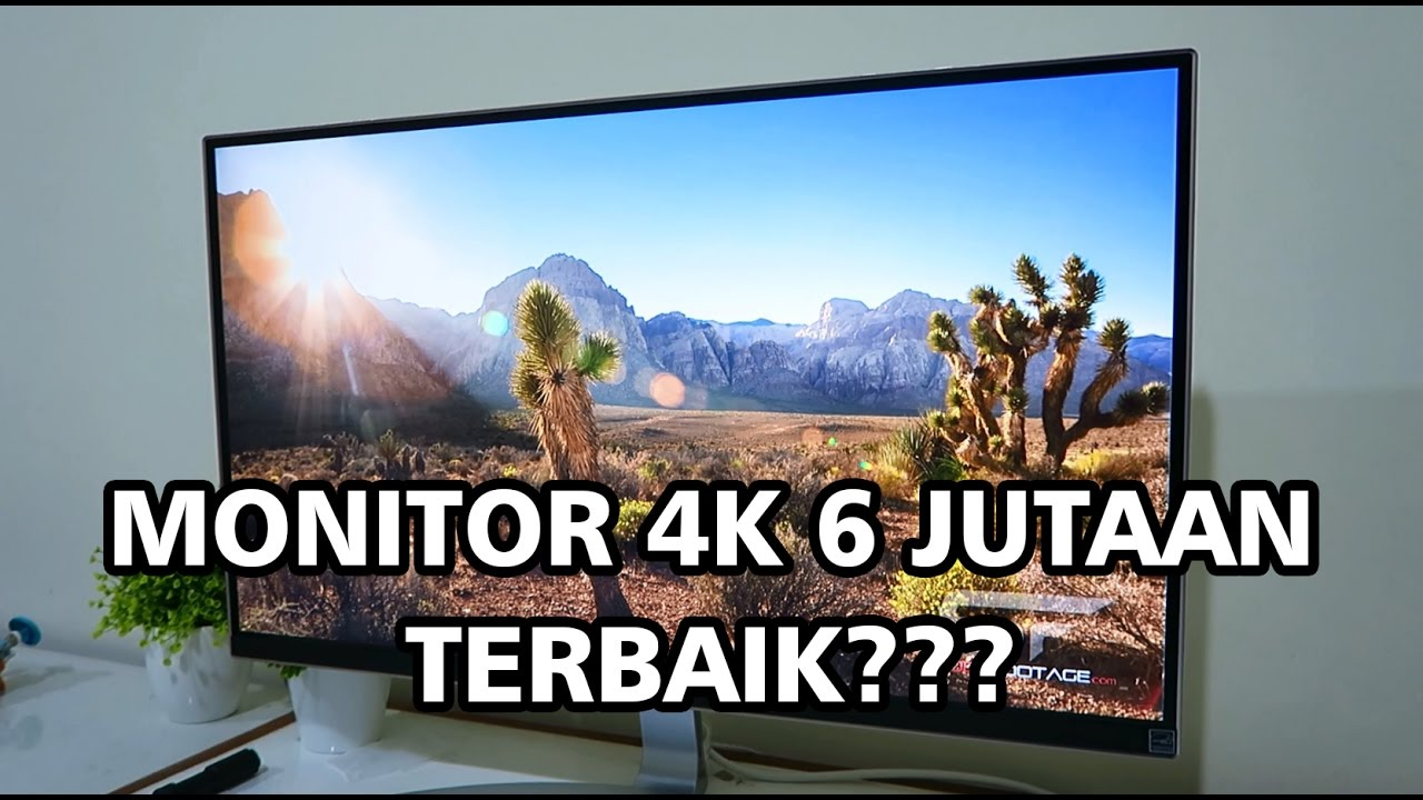 LG 27UD68-W Monitor LED IPS 4K Indonesia - Unboxing & Review