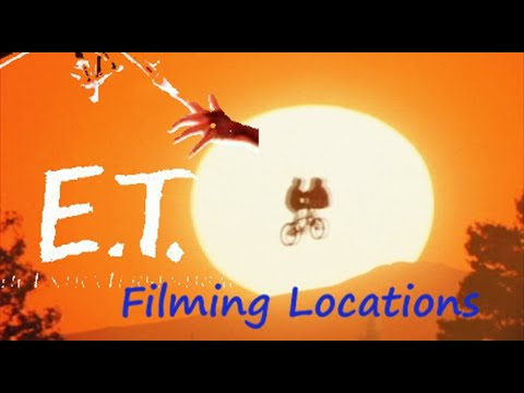 ET 1982 ( FILMING LOCATION) The Extra-Terrestrial Spielberg