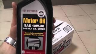 Оригинальное моторное масло Toyota 10w-30 SN USA(Оригинальное моторное масло Toyota 10w-30 SN, производства США Купить прямо сейчас http://amtecol.ru/magazin/ Рекомендовано..., 2013-08-05T19:38:27.000Z)