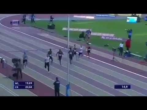 RAMIL GULIYEV RUNS 20.23 IN 200M AT PAAVO NURMI GAMES - 5.6.18