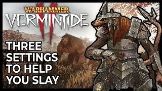 [Vermintide 2] Guide: Three Settings To Help You Slay