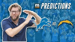 Detroit Lions vs Los Angeles Chargers final score predictions