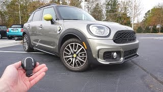 2019 Mini Cooper Countryman SE All4: Start Up, Walkaround, Test Drive and Review