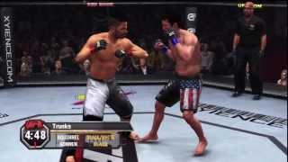 UFC Undisputed 2010 Gameplay Walkthrough Part 14 - Career Mode (Xbox 360/PS3) [HD]