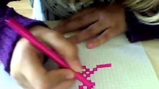 Копия видео как нарисовать сердце по клеточкам(привет я расскажу и покажу как рисовать сердечко., 2015-07-26T14:21:53.000Z)